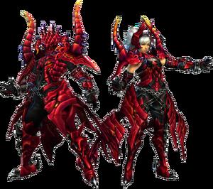 FrontierGen-Varu Armor (Blademaster) Render 2