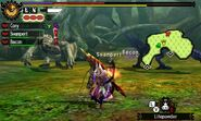 MH4U-Brute Tigrex and Yian Garuga Screenshot 001