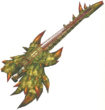 FrontierGen-Hunting Horn 011 Low Quality Render 001