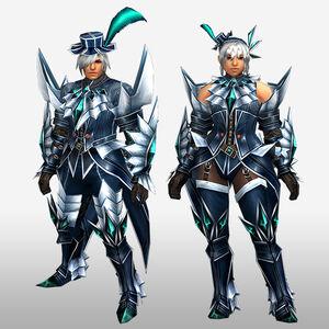 FrontierGen-Jebia G Armor (Blademaster) (Front) Render