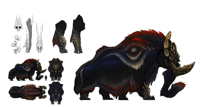 File:MHGen-Gammoth Concept Art 001.png