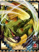 MHCM-Green Nargacuga (King) Card 001