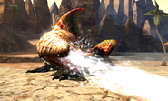 MH4U-Tigerstripe Zamtrios Screenshot 004
