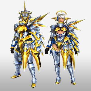 FrontierGen-Arugoru Armor (Gunner) (Front) Render