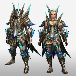 FrontierGen-Shourou G Armor (Blademaster) (Front) Render