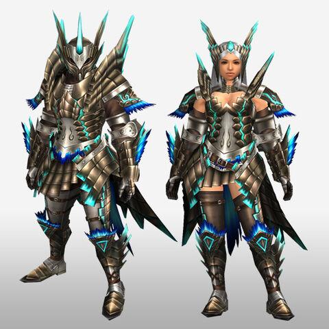 File:FrontierGen-Shourou G Armor (Blademaster) (Front) Render.jpg