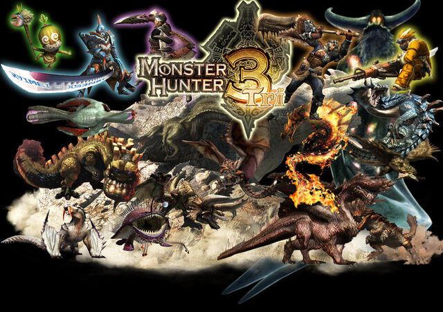 File:Monster Hunter Tri poster by shadowphoenix849.jpg