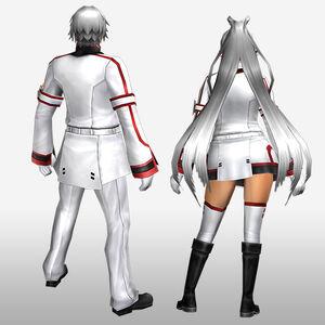 FrontierGen-IS Academy Armor 002 (Both) (Back) Render