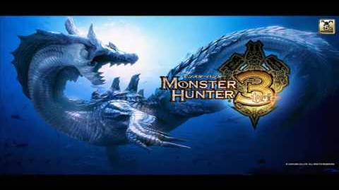 Monster Hunter 3 ( Tri ) Usurper of the Deserted Island Great Jaggi OST ( HD )
