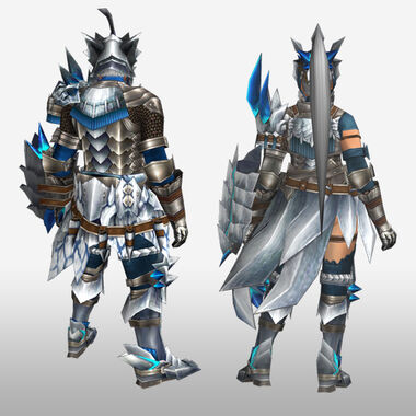 FrontierGen-Altera Armor (Gunner) (Back) Render