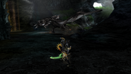 MHP3-Silver Rathalos Screenshot 009