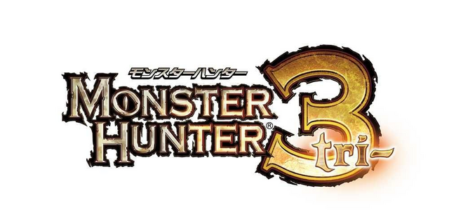 File:Monster Hunter Tri Logo.png