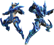 FrontierGen-Diore Armor (Blademaster) Render 2
