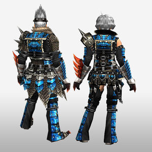 FrontierGen-Anaki Armor (Both) (Back) Render