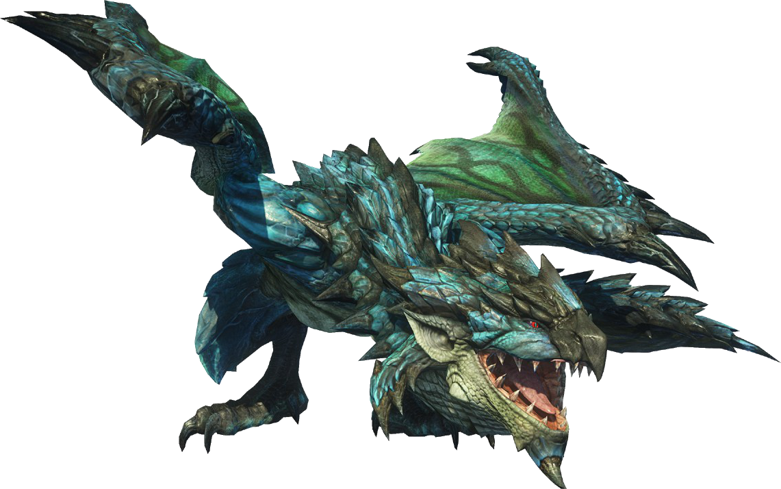Image - MHO-Azure Rathalos Render 001.png | Monster Hunter ...