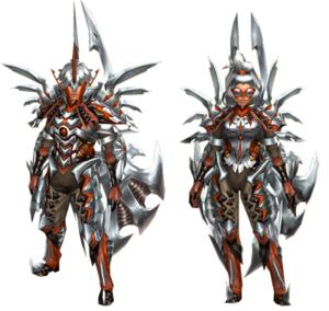 FrontierGen-Tsukasagin G Armor (Blademaster) (Both) Render 2