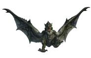 MHO-Silver Rathalos Render 001