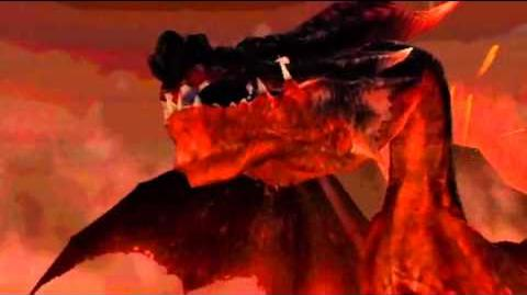 "Monster Hunter Freedom Unite -- ""Anger and Calamity"" (Crimson Fatalis Intro)"
