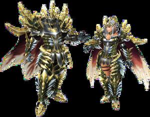 FrontierGen-Guan Armor (Blademaster) (Both) Render 2