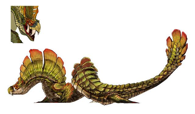 File:MH4U-Najarala Concept Art 001.jpg