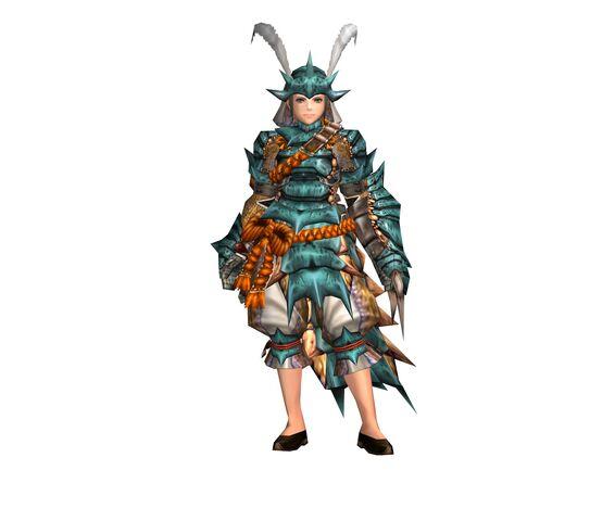 File:FrontierGen-Kutkusu G Armor (Female) (Gunner) Render 001.jpg