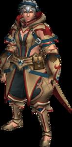 FrontierGen-Gania Armor (Male) (Both) (Front) Render 003