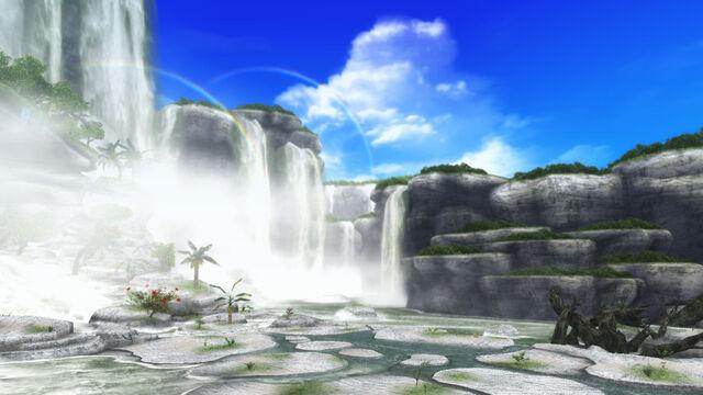 File:FrontierGen-Painted Waterfalls Screenshot 003.jpg