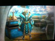 Jinouga armour back