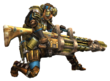 MHP3-Heavy Bowgun Equipment Render 001