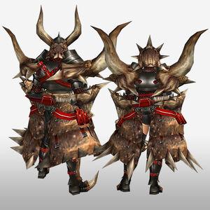 FrontierGen-Diaburo G Armor (Blademaster) (Back) Render