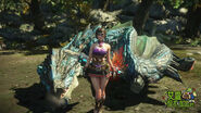 MHO-Azure Rathalos Screenshot 015
