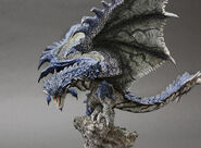 Capcom Figure Builder Creator's Model Azure Rathalos 003