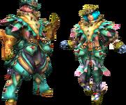FrontierGen-Fororu Armor (Blademaster) Render 2