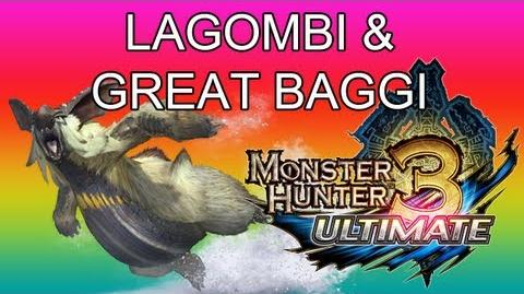 Monster Hunter 3 Ultimate - G1★ Lagombi & Great Baggi guide ウルクスス ● ドスバギィ-1