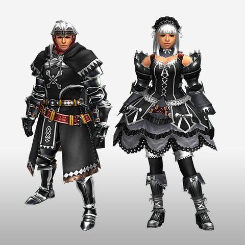 File:FrontierGen-Kinosu Armor (Both) and Bureshisu Armor (Blademaster) (Front) Render.jpg