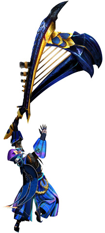 File:MHGen-Hunting Horn Equipment Render 001.png