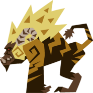 MH4U-Rajang Meownster Hunter Render 002