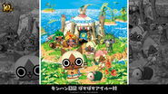 MH 10th Anniversary-MH Diary Poka Poka Felyne Village Wallpaper 001
