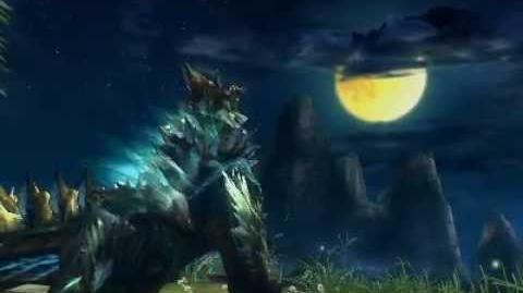 Monster Hunter 3 (Tri) G - Moonlit Nocturne (Zinogre intro)