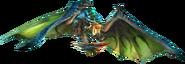 MHSP-Azure Rathalos Render 001