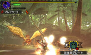 MHGen-Hyper Gold Rathian Screenshot 004