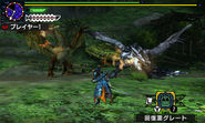 MHGen-Silver Rathalos and Gold Rathian Screenshot 001