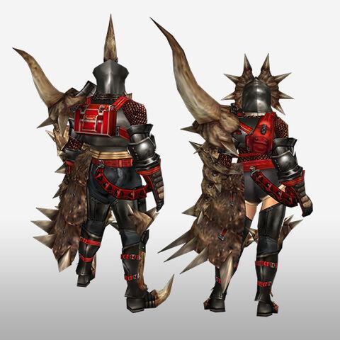 File:FrontierGen-Diaburo G Armor (Gunner) (Back) Render.jpg