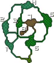 MHFU-Great Forest Map