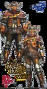 MH3U Wroggi S Armor Blade