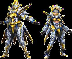 FrontierGen-Arugoru Armor (Blademaster) Render 2