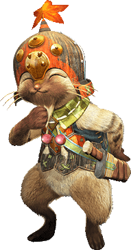 File:MHGen-Yukumo Palico Blacksmith Render 001.png