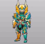 MHST-Zinogre Armor (Male) Render 001