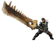 MHP3-Snake Armor Render 2
