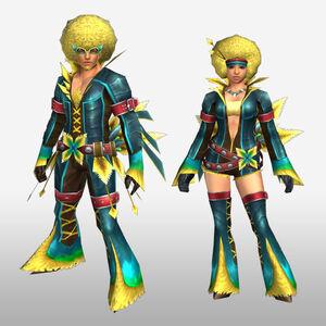 FrontierGen-Faruno G Armor (Blademaster) (Front) Render